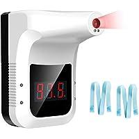 Termómetro infrarrojo montado en la pared, termómetro colgante sin contacto para oficinas, tiendas, escuelas, termómetro…