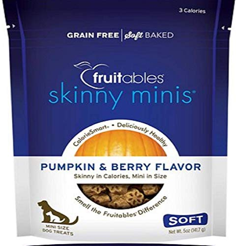 Fruitables Skinny Minis Dog Treat Pumpkin/Berry
