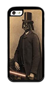 Apple Iphone 5C Case,WENJORS Uncommon Lord Vadersworth Soft Case Protective Shell Cell Phone Cover For Apple Iphone 5C - TPU Black
