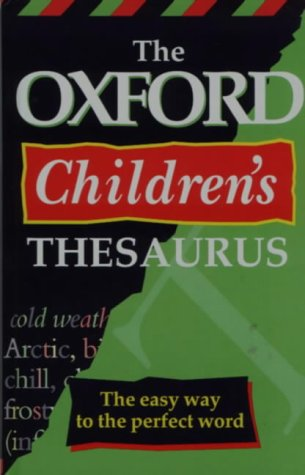 Download The Oxford Children's Thesaurus pdf epub