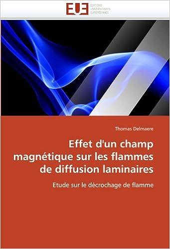 En ligne téléchargement Effet d'un champ magnétique sur les flammes de diffusion laminaires: Etude sur le décrochage de flamme pdf ebook