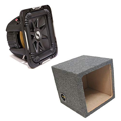 Kicker 11S15L72 Solobaric L7 Subwoofer Single 15″ Sealed Sub Enclosure Box New