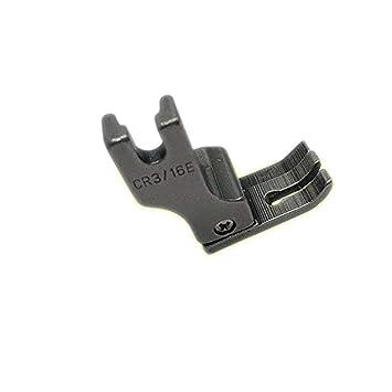 YICBOR - Pie prensatelas completo de acero derecho y ancho para máquina de coser industrial (