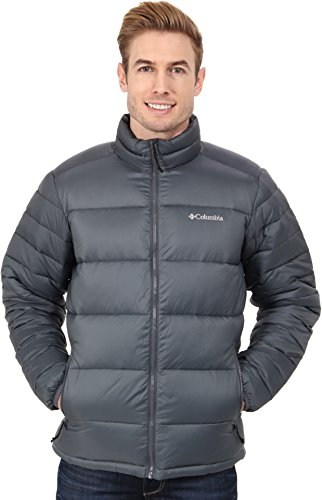 Columbia Men's Frost-Fighter Puffer Jacket, Graphite, Large