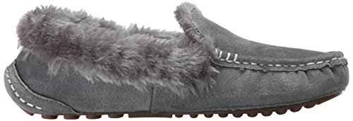 Loafer On Charcoal Women's Ausie Lamo Moc Slip xwIAUIXq