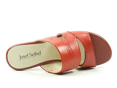 De Cuero 12 Fabia 87512 Seibel Josef Zuecos Rot Mujer Para 4pOnWv4c