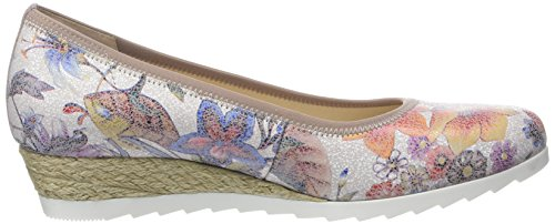Gabor Ladies Comfort Ballerine Chiuse, Multicolore Beige (multicolore Iuta 40)