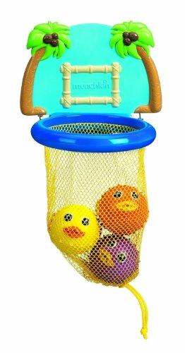 munchkin-bath-dunkers-baby-toddler-basketball-net-ball-play-set-for-bath-tub-fun