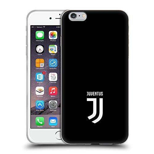 Officiel Juventus Football Club Plaine Style De Vie 2 Étui Coque en Gel molle pour Apple iPhone 6 Plus / 6s Plus