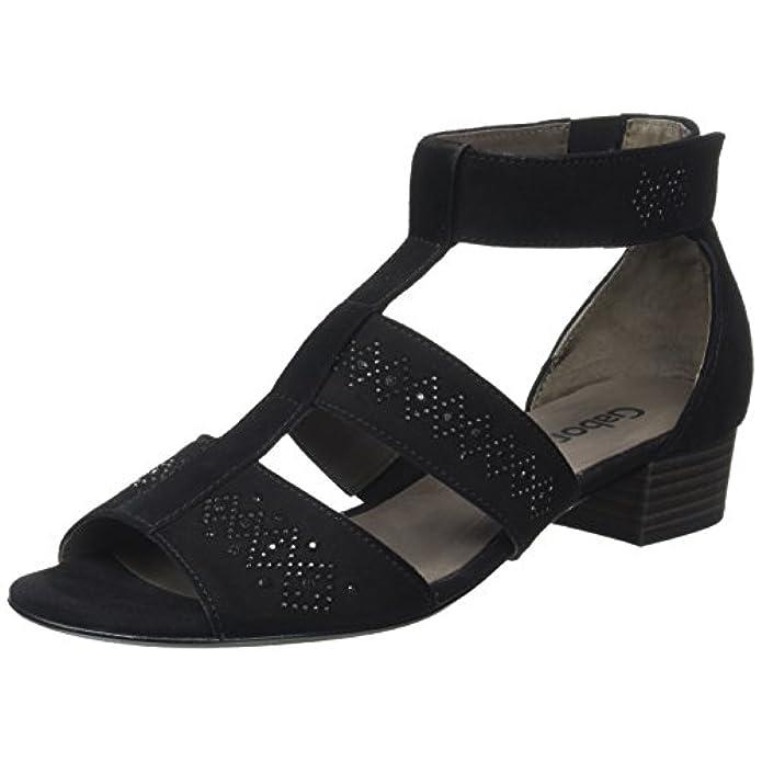 Gabor Sandali Scarpe Donna Da Fashion Con Borse E Zeppa