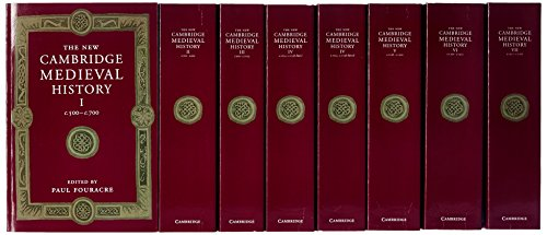 - The New Cambridge Medieval History 7 Volume Set in 8 Pieces