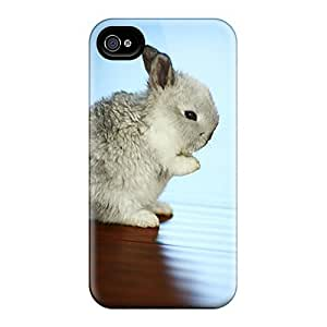 ZwxLNYT4016txATG Snap On Case Cover Skin For Iphone 4/4s(rabbit)