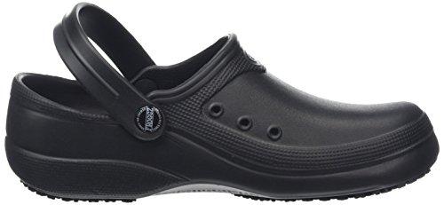 Shoes For Crews Froggz Classic 2 - Zueco de trabajo adulto, Unisex Negro