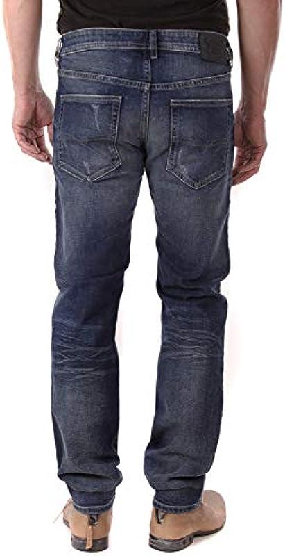 Diesel Buster R9K03 dżinsy męskie Regular Slim Tapered: Odzież