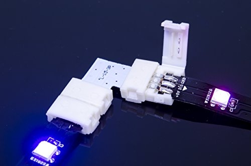 ACROBOTIC 4-Pack WS2812B Strip 90-degree Corner Right Angle Connector (3-Pin)