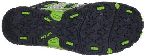 Timberland Hypertrail FTK_Hypertrail Lace Ox 4096R - Zapatillas de montaña de cuero para niño Gris (Grau (Dark Grey with Green))