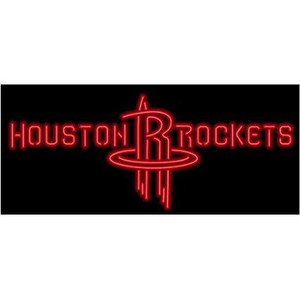 859b24c3e8 Houston Rockets Neon Sign NBA Teams Neon Light in 2019