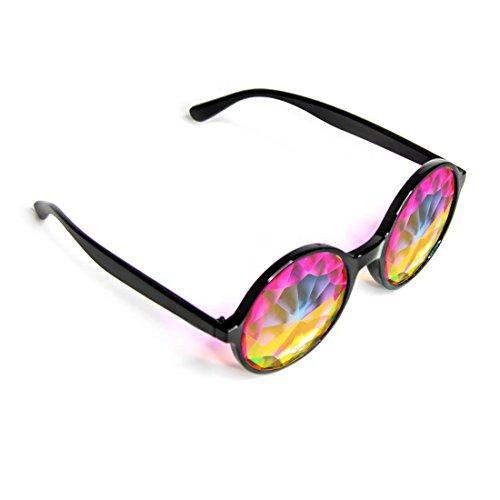 GloFX Homme lunettes kaléidoscope - léger, cristal Diffraction festival  électroérosion taille unique noir  Amazon.fr  Vêtements et accessoires 13f53c7bcc59