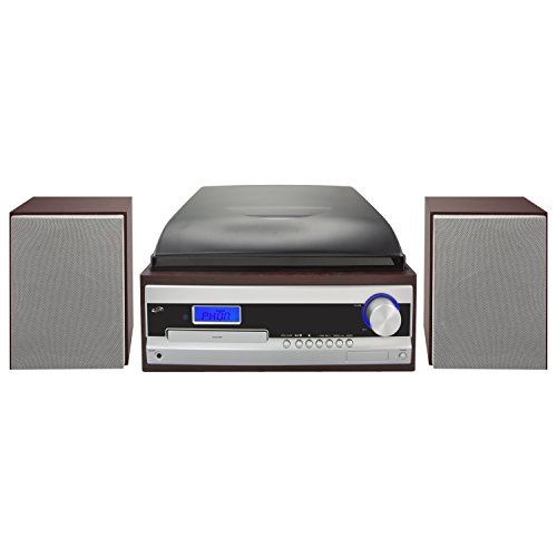 DPI iLive Wireless Home Music System With Turntable, AM/F...