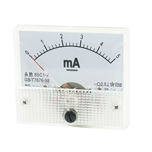 uxcell-85c1-a-class-25-accuracy-dc-0-5ma-analog-ampere-ammeter-panel-meter