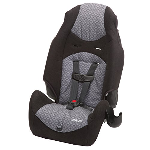 Cheap Cosco – Highback 2-in-1 Booster Car Seat – 5-Point Harness or Belt-positioning – Machine Washable Fabric, Cam