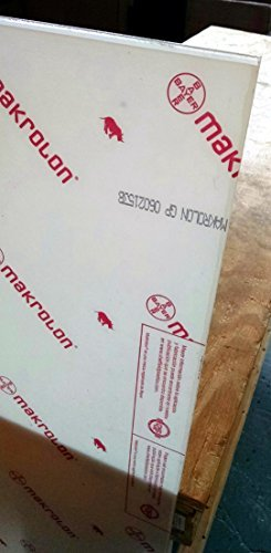 Online Metal Supply Polycarbonate Sheet 1/8