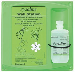 (Single Wall Station, 16 0z. Bottle Personal Eyewashes and Wall Stations (4 Each) -)