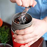 Cafflano All-in-One Portable Pour Over Coffee Maker for Camping, Travel & Office