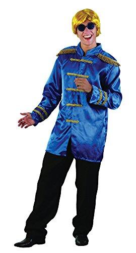 Bristol Novelty AC413B SGT Pepper Budget Jacket, Blue, -