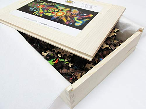Artifact Puzzles - Bruce Riley Half Life Wooden Jigsaw Puzzle