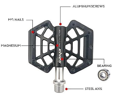 eveter ultraligera Mountain Bike aleación de magnesio Pedal 013: Amazon.es: Deportes y aire libre