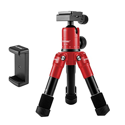 ZOMEI ZM-HR-CK30-RED-01 Lightweight Compact Aluminum Alloy M