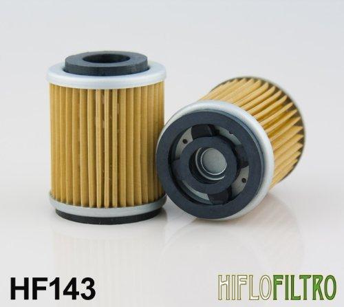 Hiflofiltro Premium Oil Filter Hifo Hf143 Replaces Yamaha 5ho-13440-00-00, 5ho-13440-09-00, 3uh-e3440-00-00 2 Pack