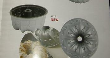 Molde para bizcocho - Aluminio fundido a presión - Diá. 10 cm x 5 cm