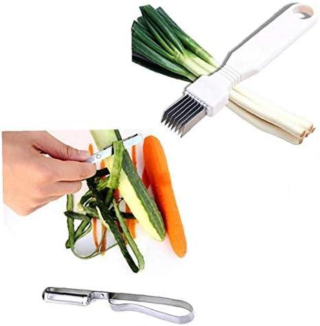 Küchenzwiebel Gemüseschneider Sharp Scallion Cutter Shred Werkzeug Besteck