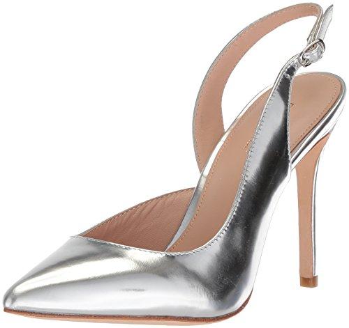 cheap sale 100% guaranteed cost sale online Rachel Zoe Women's Melrose Pump Silver RNDvlL