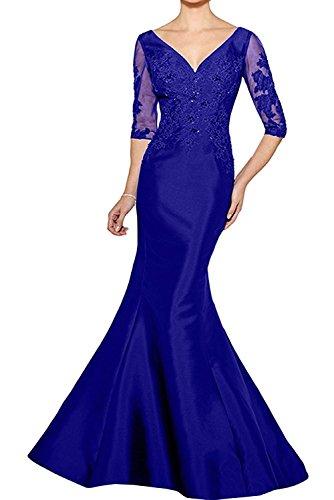 La mia Braut Lila Lang Etuikleider Abendkleider Brautmutterkleider  Partykleider Figurbetont Festlichkleider Standsamt Kleider Royal Blau  eZv5koB f0180877db