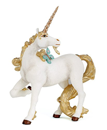 Papo The Enchanted World Figure, Golden Unicorn