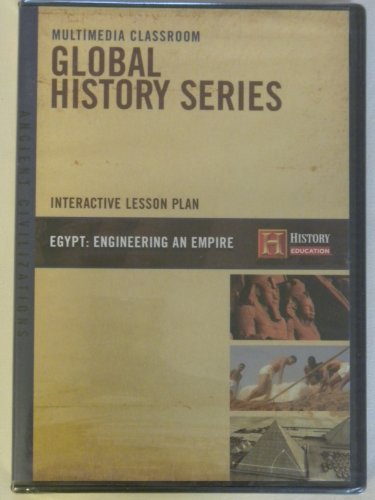 Egypt: Engineering an Empire CD-Rom Lesson Plan
