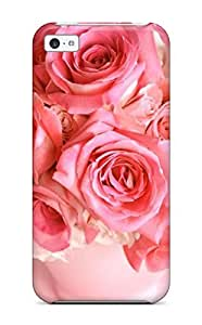 [bFNoyud1117xtoRE] - New Simple Bouquet Rose Flowers Protective Iphone 5c Classic Hardshell Case