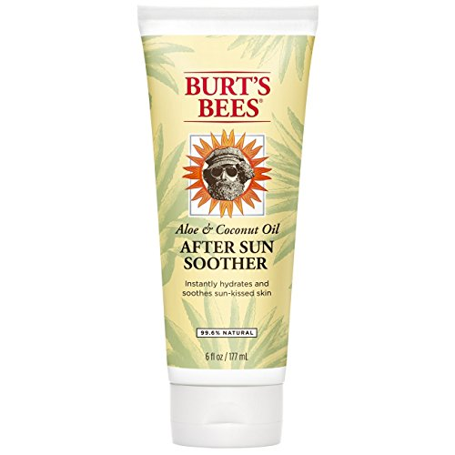 Burt's Bees Aloe & Coconut Oil After Sun Soother 6 oz (Pack of 3) by Burt's Bees