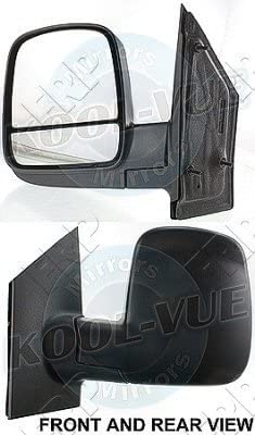 Manual Door Mirror For 2008-2017 Chevrolet Express Savana Driver Side 20838065