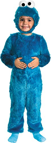 Sesame St Cookie Monster 3t-4t by Unknown by Morris Costumes (Inc Monster Cutter Cookie)