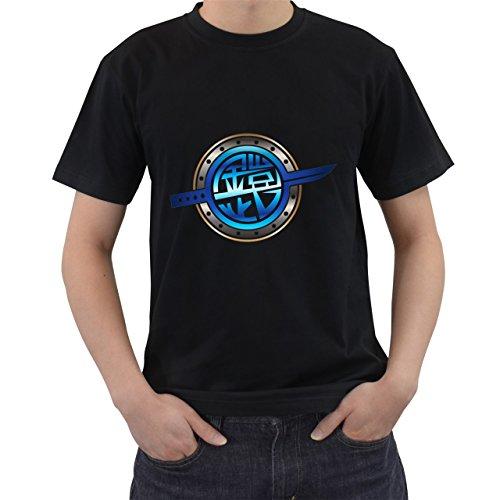 [Kamen Rider Gaim Logo T-Shirt Short Sleeve By Saink Black Size S] (Good Burger Movie Costume)