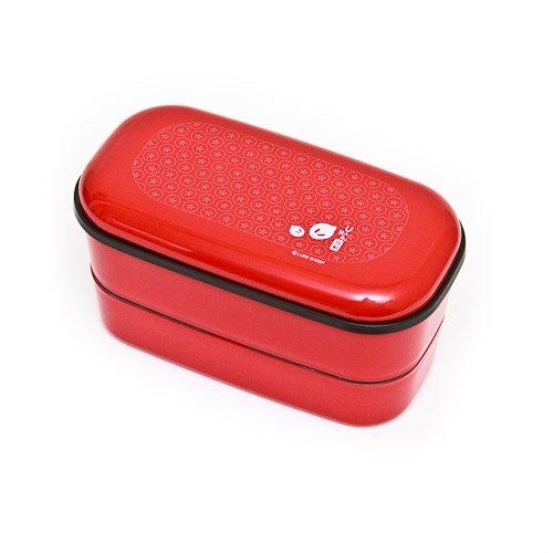 (Urara Red Rabbit 2 Tier Japanese Bento Box by icn)