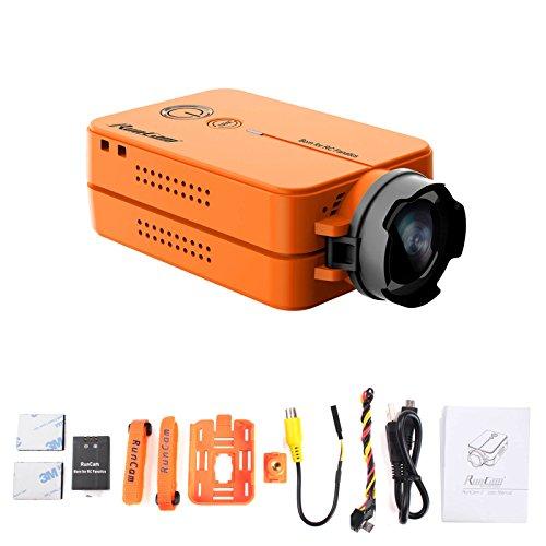 Runcam Camera FPV Drone And Remote Control Camcorder, Orange