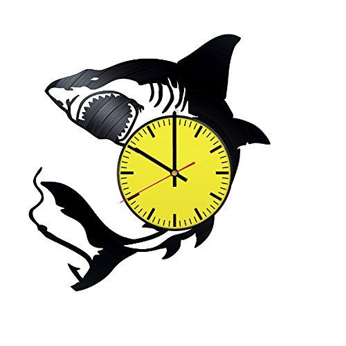 shark wall clock - 1