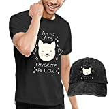 Outlaw Hero Limited Edition Favorite Pillow Black Cowboy Fashion Men's T-Shirt and Hats Youth & Adult