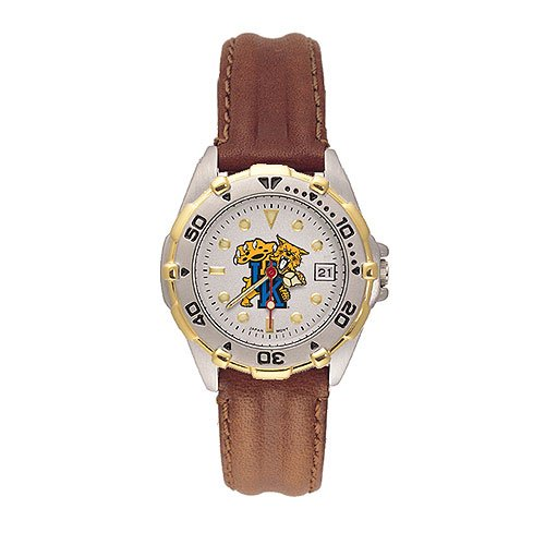 Kentucky Wildcats Ladies NCAA ''All-Star'' Watch (Leather Band) by Logo Art