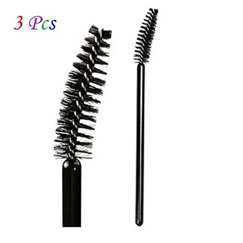 Brendacosmetic Professional Eye brow Brush Eyelash brush Replacement ,Black Spiral Eyebrow Brush Makeup Cosmetic Tool for - Women's Clinic Hills Beverly